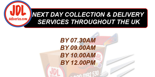 Next Day Collection & Delivery Times