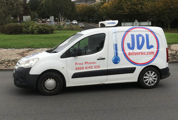 JDL Deliveries Temperature Controlled Van