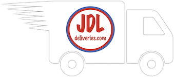 JDL Deliveries van