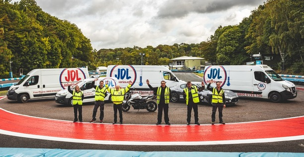 JDL Deliveries Team and Vehicles